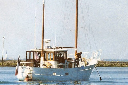 Pholos, Ketch aurique, 13.50m, 1962