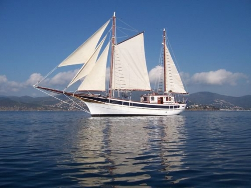 Andanza, Ketch aurique, 25.00m, 0