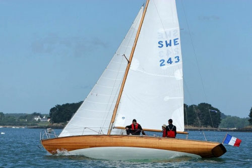 Just  Pure, Sloop marconi, 9.58m, 1950
